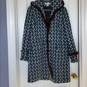Nine West coat with fur. Size S